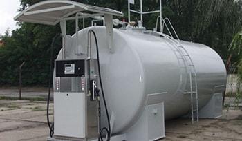 Mobile Tank Fuel Station